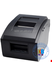 Needle type small bill printer POS76 two uncouplets of the triple coil invoicing supermarket