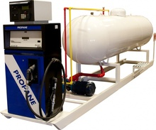 Hot selling mobile LNG /LPG / LO2 / LN2 / LAr2 / LCO2 skid filling station