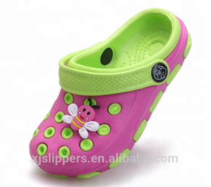 Latest Design Cheap Wholesale Kids Fancy EVA Cartoon Garden Clog Shoes Custom Logo Children Garden Clog Slipper Sandal