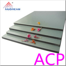 Good finish Silver Brushed acp panel Aluminum composite material
