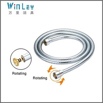 WP6002 model double lock Stainless steel flexible shower hose