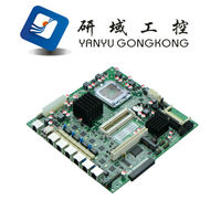 G41 motherboard , 775/771 socket high quality chipset for firewall motherboard 6 LAN