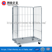 Direct Factory Demountable Detachable Wire Cage Metal Bin Stacking Racks