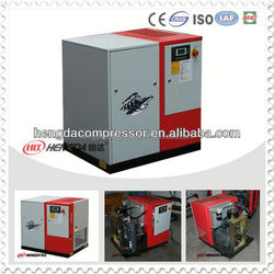 Industrial Electric Power 10bar 15HP 1.5m3/min Screw mobile air compressor
