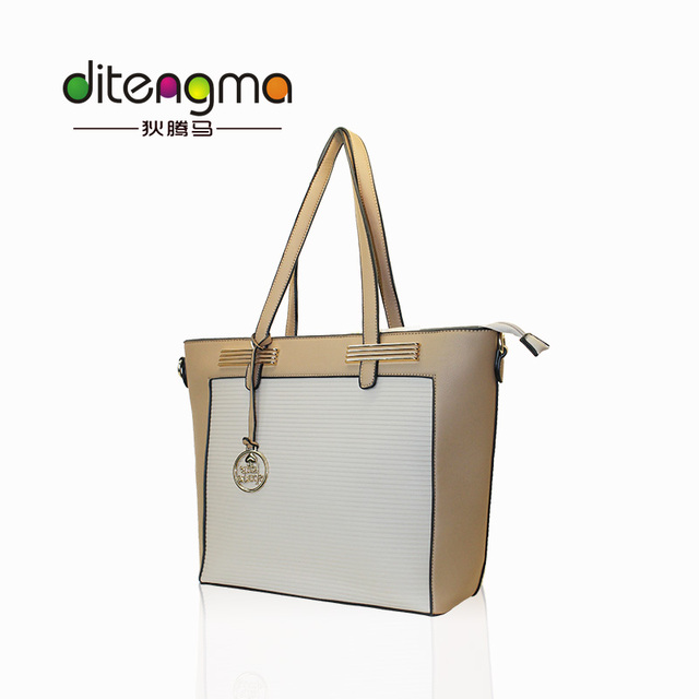 2017 New Street Fashion Style OEM Luxury PU Leather Bags Women Handbags Tote For Ladies