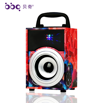 2018 Crazy selling 3 inch (4ohm 5W) bluetooth dj bass active speaker