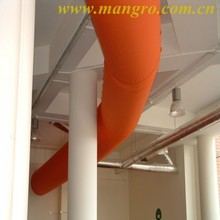 heat resistant flexible duct fabric, pvc coated fabric, tarpaulin