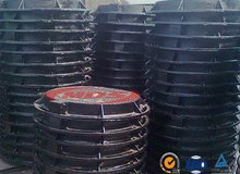 d400 high loading manhole cover used for fossil oil station