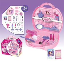New Cheap children pretend play princess dressing table play house girl makeup plastic toys for kids