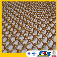 Metal Coil Drapery for Decorative Mesh of Window or Wall,Metal Mesh Curtain