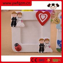 stand paper baby fridge magnet photo frame