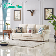 AS-18 american style wooden frame modern sofa
