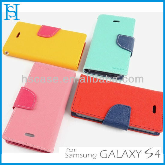 leather pouch flip cover case for samsung galaxy y
