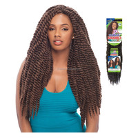 Hot selling havana mambo twist crochet braids synthetic kinky marley twists braiding hair extension