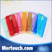 0.33mm clear transparant TPU back cover case for Samsung galaxy S5 cheaper price hot selling in China Alibaba
