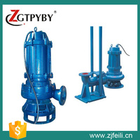 High rise water pump discharge head submersible pump