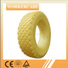 4 to 16 inches flat free PU foam tire for wheelbarrow 4.00-8