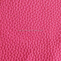 New Lychee Pattern PU Leather For