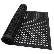 Oil-proof anti-bacterial mildew proof rubber kitchen mats
