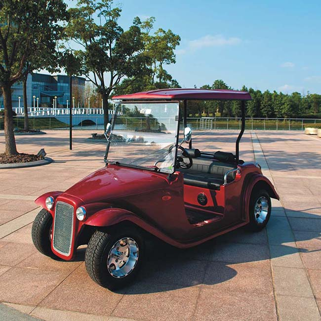 Luxury classic car 4 Seater Electric Golf Cart DN-4D