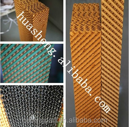 HS high quality 2016 cooling pad aluminum alloy frame in greenhouse