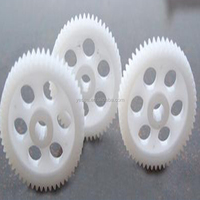 YuanHai Factory Main Mold Products Manufacturer Custom High Precision POM Plastic Spur Gear for Electric Motor