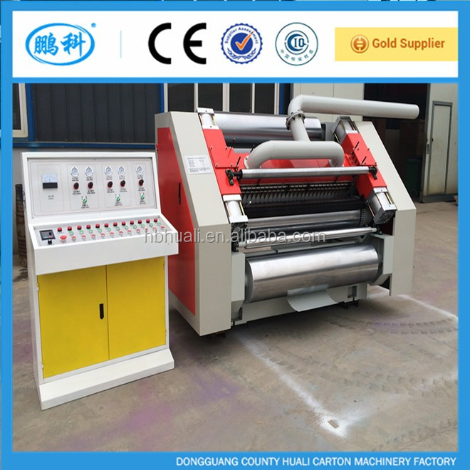 SF-320S(360S) fingerless type single facer / corrugated cardboard carton box single facer machine / automatic production line