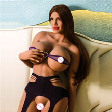 2018 Newest designs 176 cm new mold huge boobs big ass big breast full body silicone cyberskin sex dolls for man