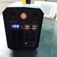 Mini online ups 12v 220v 600w portable solar generator invertor 12 to 220 AC power bank