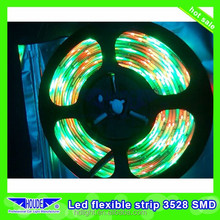 changeable SMD5050/3528 waterproof led rope light led flexible strip light DC12V SMD3528