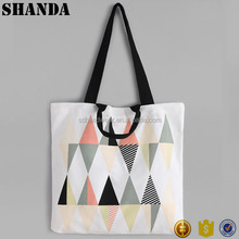 Design your logo polyester foldable tote bag felt tote bag shopping tote bag