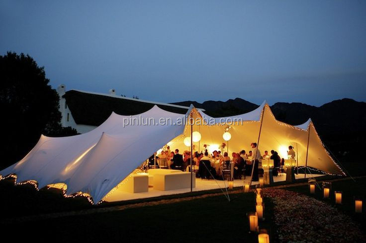 manufacture of stretch wedding tent in china