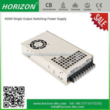 high quality of ac to dc power horizon stable electric equipment dual output switching power supply 5v 12v