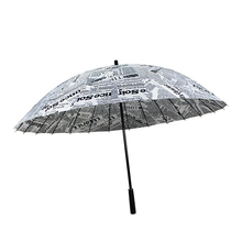 Top quality Eco-friendly Sunshade fiberglass design digital print umbrella