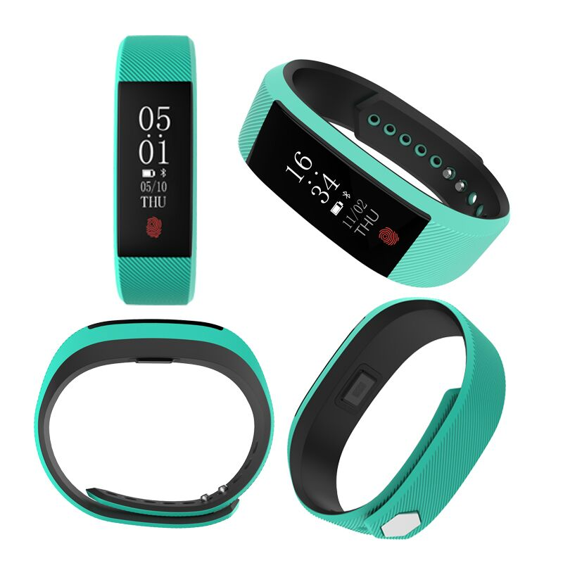 Smart Bracelet Watch W808S Fitness Tracker Heart Rate Monitor With Colorful Bluetooth Wristband Pedometer Bracelet For Android