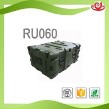 Tricases china good supplier new coming IP67 plastic LLDPE rack cases rotomoulding portable military case RU060