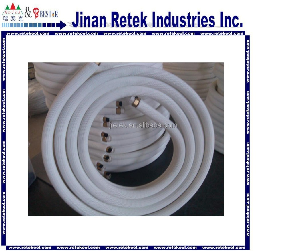 Air conditioner insulated copper pipe
