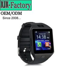 Top 3 factory!2017 most popular wholesale smart watch dz09 with Camera for Iphone and Android Smartphones