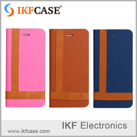 wholesale dustproof TPU+PU leather mobile phone case for Iphone 6