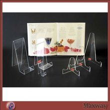 Table Transparent Acrylic Books Plates Holder for Wholesale
