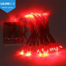 Diwali red led battery operated christmas lights Mainly Festivals event decoration