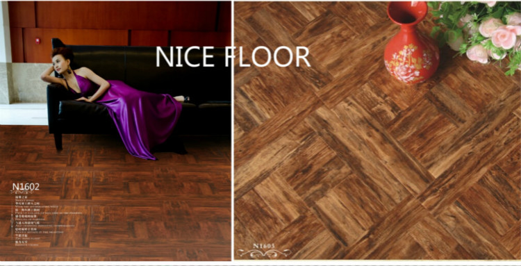 German cartoon pattern cheap parquet Laminate Wood Flooring