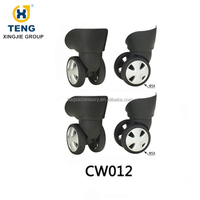 Double suitcase wheel luggage wheels replacement parts