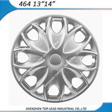 Universal silver car wheel cover ABS/PP 13,14 inch hubcap best quality