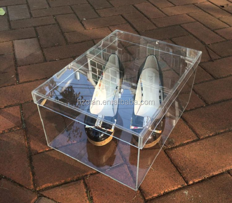Factory Price Acrylic Shoe Container Wholesale