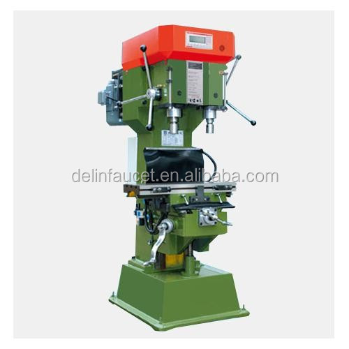 DL-70V/S Double-Shaft Manual welding combination machine, drilling and tapping machine