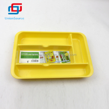 Plastic Kitchen Restaurant Cutlery Serving Tray