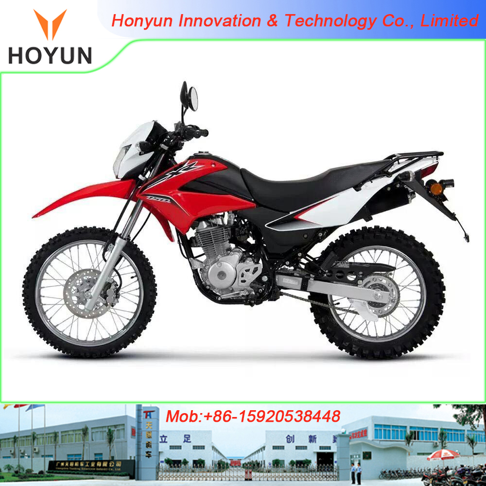 Hot sale in South America Shineray Jialing Cross off-road Dirt bike XR150 motorcycles