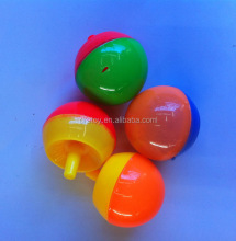 New material cheap capsule children promotional toy spinning top