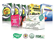 Organic Food Supplements Package Offer